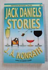 NEW Signed Jack Daniels Stories Paperback Book By J.A. Konrath