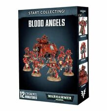 Start Collecting Blood Angels Warhammer 40K NIB Flipside