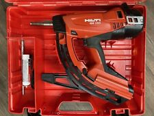 Hilti Gx120 Complete Kit Powered Fully Automatic Fastener Nail Gun Actuated