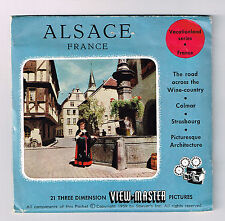 View-Master Pack - S3 Belgium - ALSACE FRANCE | Buy 3 or More For Free Shipping