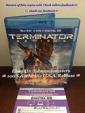 Terminator Genisys Blu-Ray Disc + Digital HD  (NO DVD) Please Read Carefully
