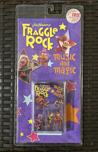 Fraggle Rock Music And Magic Audio Cassette And Poster NOS