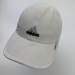 Adidas Adizero White Ball Cap Hat Adjustable Baseball