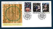 GREECE - GRECIA - 1975 - BUSTA - FDC - Europa: quadri