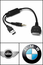OEM BMW iPod iPhone Connection Port Charge Cable select Vehicles 61120440796