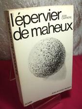 L'ÉPERVIER DE MAHEUX  Jean Carriere  Roman
