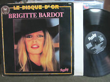 Le Disque D'or Brigitte Bardot BARCLAY LP '72 france import film 60's 70's rare!