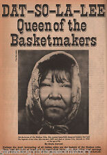 Dat-So-La-Lee Queen Of The Basketmakers+ Cerveri, Cohn, Nye, Ormbsy, Truckee,