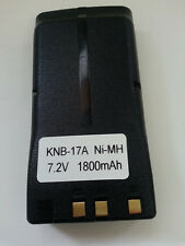 Ni-MH BATTERY Pack Fits KENWOOD KNB-17A, KNB-52N, KNB-16A, TK-190,  KNB-17N,