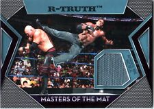WWE R-Truth Topps 2011 Masters of the Mat Event Used Relic Card FD30