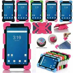 For Walmart Onn Surf Tablet 7/8/10 in Kids Shockproof Silicone Rubber Cover Case