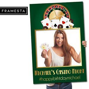Casino Party Decorations Australia (60x90 cm) Photo Booth Prop | Instagram Frame