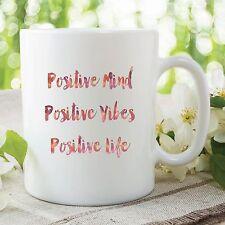 Positive Attitude Mug Gift Great Kitchen Office Coffee Cup Work Decor WSDMUG292