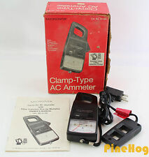 Micronta Clamp-Type AC Ammeter 22-160 Amp Meter with Pick-up Multiplier