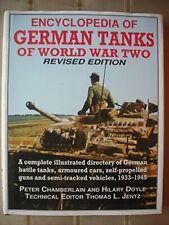 Encyclopedia of German Tanks of World War Two by Hilary L Doyle Hardback Book