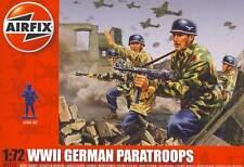 Airfix German Fallschirmjäger Deutsche Paratroopers Diorama 1:72 Figures kit NEU