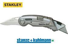 STANLEY Sportmesser Quickslide II gezahnte Sportklingenlänge 75mm / Cuttermesser