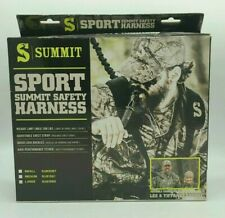 LARGE SUMMIT SPORT HUNTER SAFETY HARNESS/FALL ARREST SYSTEM TREESTAND DEER HUNT