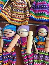 Guatemalan Worry Dolls Magnet x 10 for Art and Craft Bulk Lot lot 20