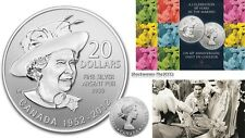 2012 Silver $20 THE QUEEN'S DIAMOND JUBILEE Coin FREE DOMESTIC SHIPPING, 10% OFF