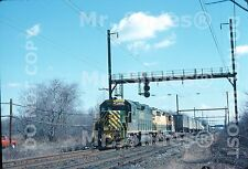 Original Slide RDG Reading Co. GP39-2 3402 & GP35 Action In 1976