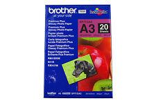 Original Brother  Premium Plus Photo Glossy Papier BP-71GA3   DIN A3