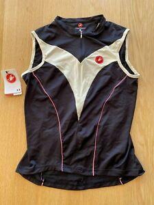 Brand New Original CASTELLI SOFT FLEX DIAMANTE CYCLING Jersey L