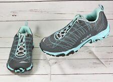 Oboz Womens Aurora HikingTrail Athletic Shoes Size 6.5 M Iceberg NEW