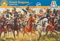 Italeri 1/72 Napoleonic Wars French Dragoons Plastic Model Kit 6015 ITA6015
