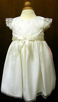 BRIDESMAID BABY GIRL CINDERELLA DRESS IVORY,12 18 24 M  BNWT CHRISTENING PARTY