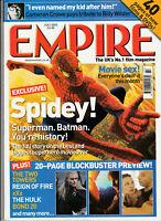EMPIRE Film Magazine July 2002 - Spidey! (Issue 157)