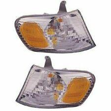 FOR TY COROLLA 2001 2002 CORNER PARK SIGNAL LAMP RIGHT & LEFT PAIR SET