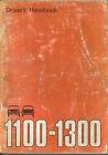 Austin Morris 1100 & 1300 Mk III Original Drivers Handbook 1971 No. AKD 7903