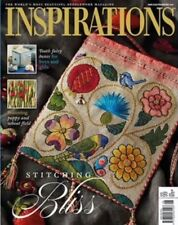 Inspirations embroidery magazine #99 NEW free shipping