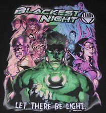 Green Lantern - Blackest Night t-shirt - size M - medium - DC Comics