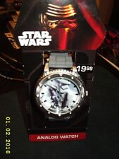 Star Wars the force awakens Kylo Ren Stormtrooper LCD digital thick band watch