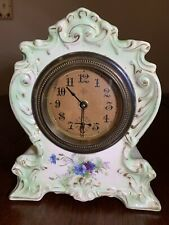 New ListingVintage/antique Gilbert Porcelain Mantle Clock