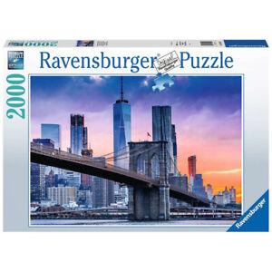 Ravensburger 2000 Piece Jigsaw Puzzle New York Skyline 98 x 75cm