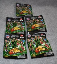 5 PACKAGES NFL FOOTBALL SMALL PROS SERIES TWO FIGURES
