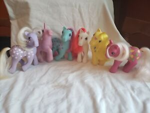 Vintage My Little Pony Fun Accessories Pony Pack Tiara Shoes Star complete lot