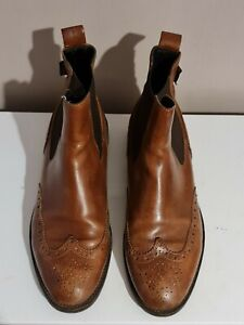 Russell & Bromley Women Leather Boots Size 7 UK