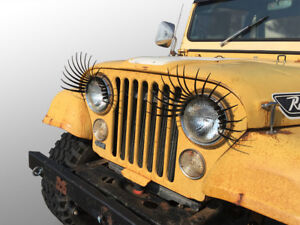 CarLashes® for Jeep CJ (1945–1986) - Car Eyelashes for Headlights