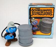 """40216 Feuerwehrschlumpf  """"in alter original Schachtel"""" / fireman smurf - new box"""
