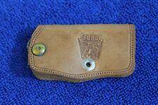 Leather Ford Emblem Badge Key Chain Key Case Accessory F100 F150 Truck Deluxe