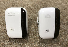 Wifi Repeater X2, Pair, 2, 300Mbps Speed, UK Seller, Free P&P, Ex Display