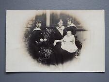R&L Postcard: Edwardian Lady & Children Portrait