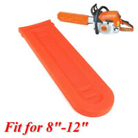Orange 8-12 Chainsaw Bar Protector Cover Scabbard Guard For Stihl Husqvarna