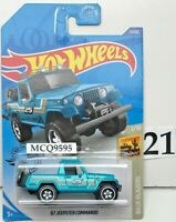 HOT WHEELS 2020 BAJA BLAZERS '67 JEEPSTER COMMANDO