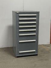 Used Stanley Vidmar 8 drawer modular cabinet industrial tool parts storage #2284