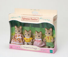 Sylvanian Families Family Set 5180 Striped Cat Family /3+ Brand New In Box